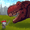 Typing Games Ninja Cat And Zombie Dinosaurs